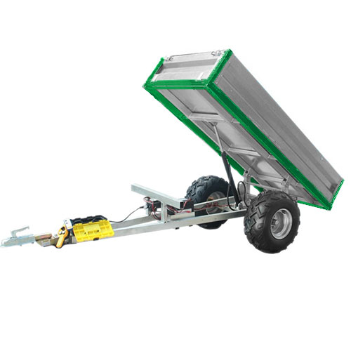 Hydraulische kipwagen (laadvermogen 600 kg)
