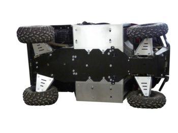Skid plates full kit - Polaris 570 Ranger