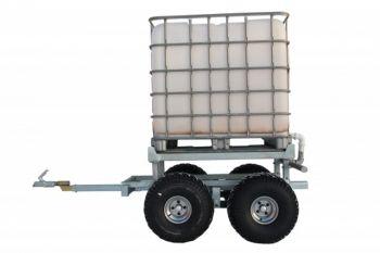 ATV houttrailer + WATERTANK KIT (1000L)