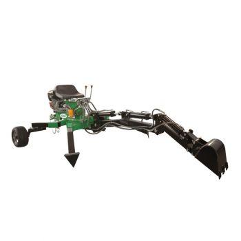 ATV ACHTERZIJDE schoffel