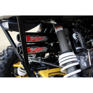 GROOT GEWEER Yamaha YXZ 1000R Duale Dempers/Drie Hoofd Pijpen