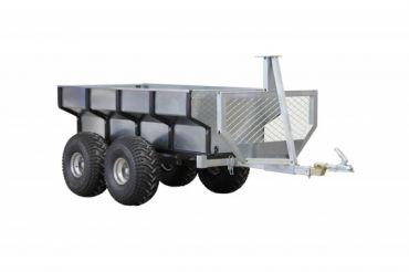 ATV houttrailer + laadbak