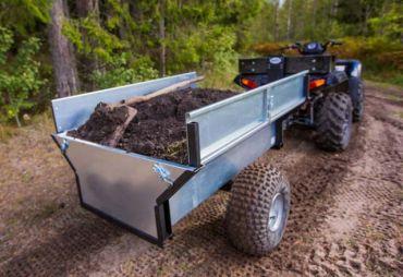 ATV/Quad/Tractor tipping aanhangwagen