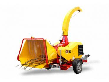 XYLOCHIP 125 M - 28,5 HP Lombardini Diesel motor ondersteunde houtversnipperaar / versnipperaar