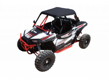 DRAGONFIRE Softtop zwart Polaris RZR1000 XP