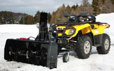 "Sneeuwblazer voor quad, 48"" (122CM) 14hp Kohler engine"
