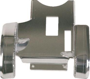 ART aluminium ACHTERZIJDE Glijplaat Kymco Maxxer 300