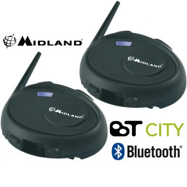 Midlen BT CITY TWIN INTERCOM BLUETOOTH KIT