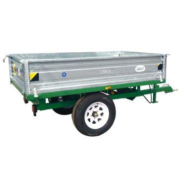 Hydraulische Aanhanger – 1500kg capaciteit