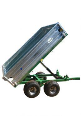Hydraulische Aanhanger - 2500kg capaciteit